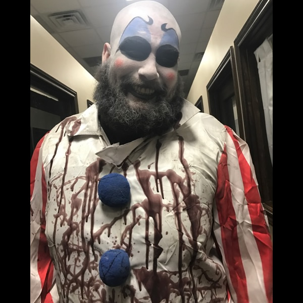 Captain Spaulding makeup